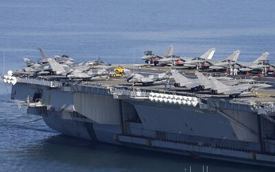 """El """"superportaaviones"""" para luchar contra ISIS"""