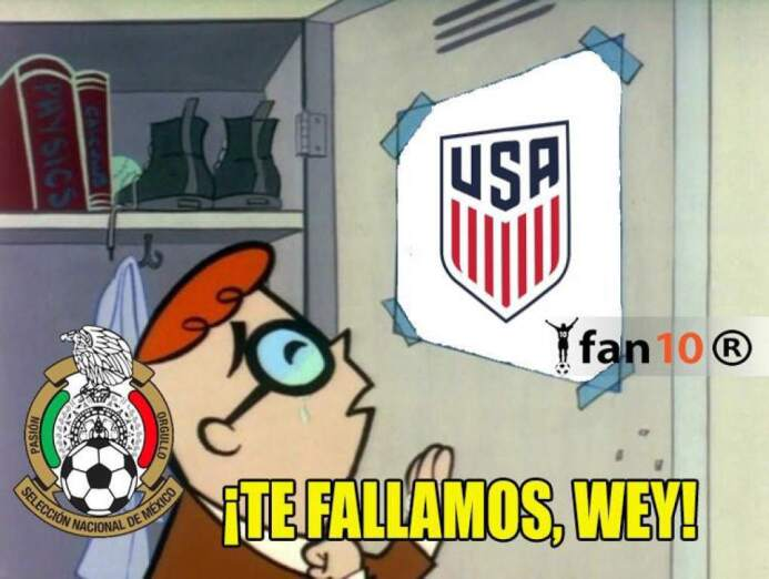México perdió el invicto, Estados Unidos quedó eliminado y las redes soc...