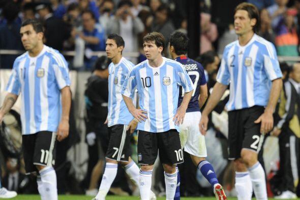 Messi, Tévez, Demichelis y Di María siguen sin poder demostrar con la ca...