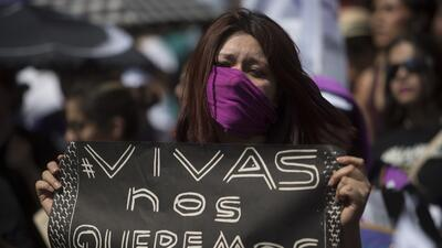 En México ocurren cuatro feminicidios por cada 100,000 mujeres. (Archivo)