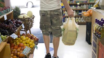 Chicago hizo que las bolsas plásticas tuvieran un pequeño...