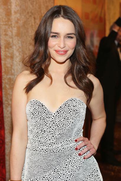 La actriz de 'Game of Thrones' ha conquistado con su mirada y hermosa so...
