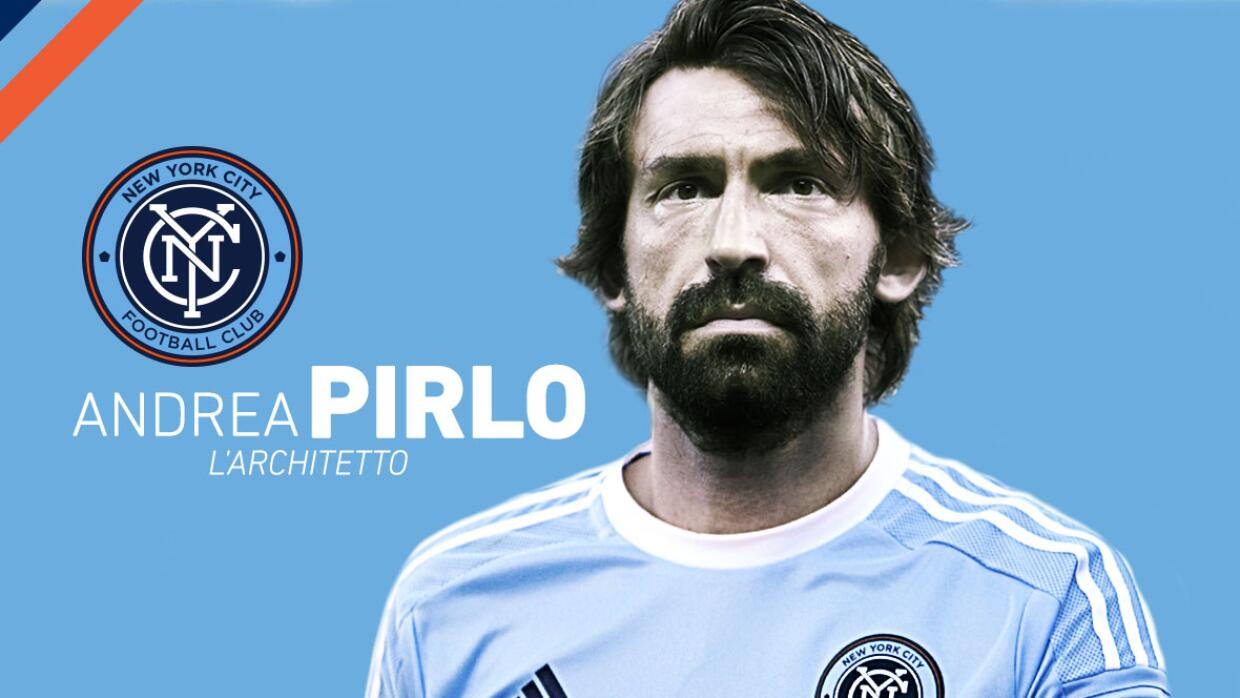 Andrea Pirlo firma con New York City FC