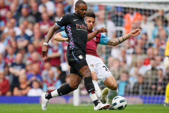 Comenzó ganando el West Ham pero no pudieron mantener la ventaja y en la...
