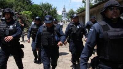 Autoridades detuvieron a 158 policías municipales en Durango por presunt...