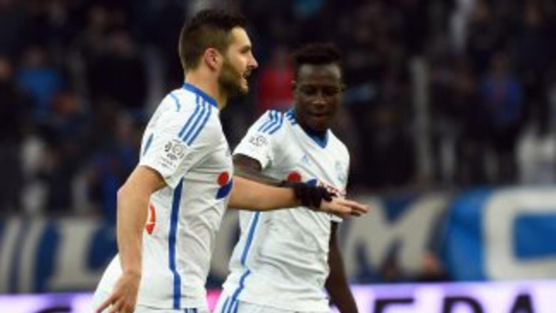 Cignac anotó para el Marsella ante Evian.