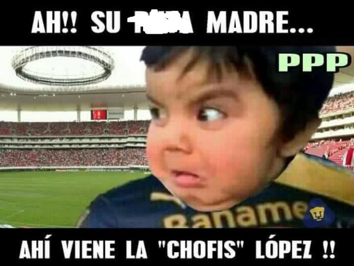 Los memes no perdonaron la goleada de Chivas