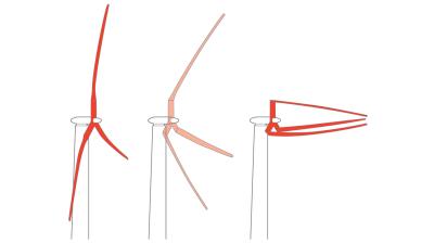 Una turbina eólica gigante inspirada en las palmeras para resistir hurac...