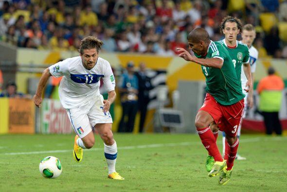 Ya en Copa Confederaciones, el Tri debutó con una derrota ante Italia, S...