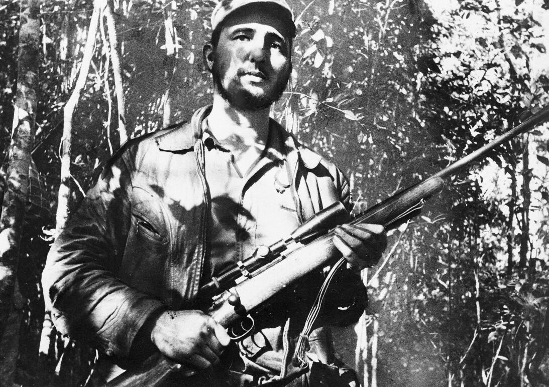 Retrato de Fidel Castro, 1957.