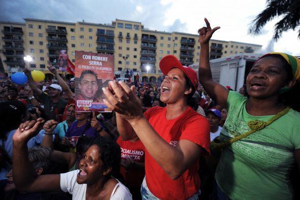 Chávez ganó por primera vez la presidencia en diciembre de 1998, fue rat...