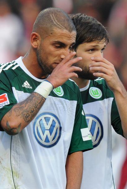 El futbolista de origen iraní, pero con nacionalidad alemana, del Wolfsb...