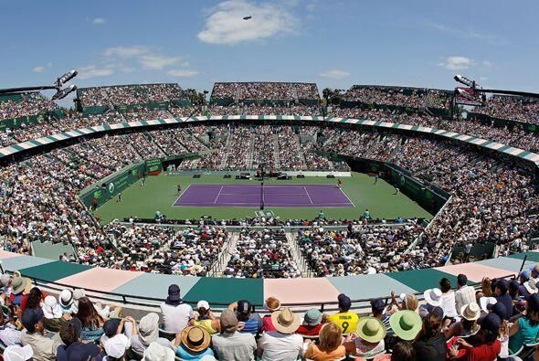 Todo el público en Miami esperaba ver un duelo muy cerrado en la final f...