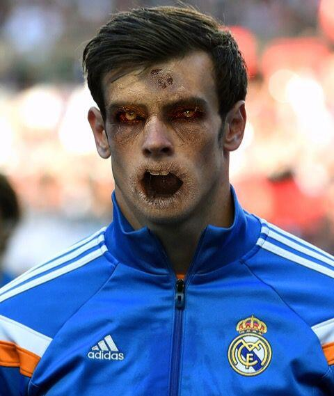 Gareth Bale, potente extremo galés que ya pesa en el Real Madrid.