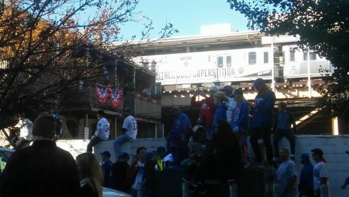 desfile de los Cubs