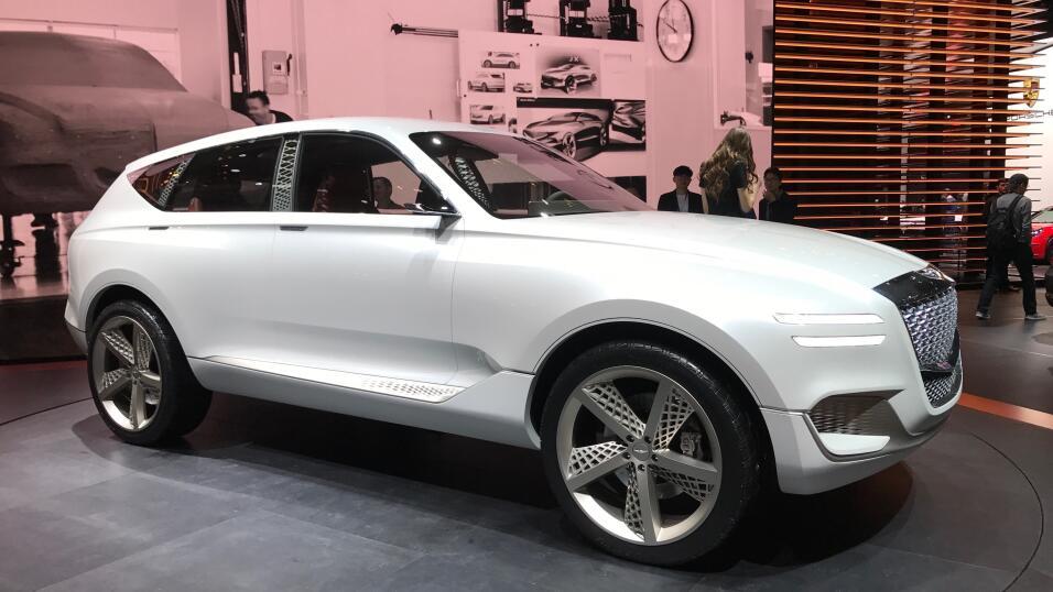 Así es la Hyundai Genesis GV80, la nueva SUV de lujo de la marca en form...