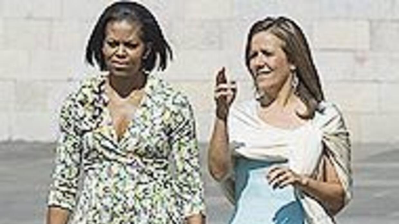 Michelle Obama y Margarita Zavala de Calderón este domingo en Al Punto c...