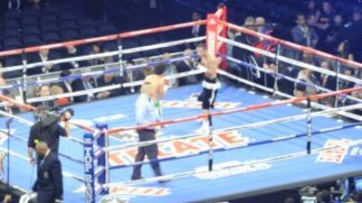 Comenzarón las peleas preliminaneres en el Madison Square Garden.