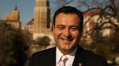 Jorge Núñez, conductor de Noticias 41 en San Antonio, Texas.