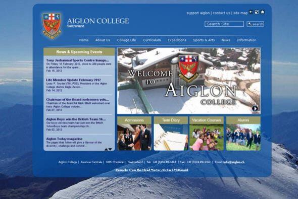 AIGLON COLLEGE- Para poder cursar un año en esta escuela debes tener por...