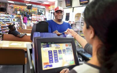 Un comprador de un billete de Powerball en Augusta, Georgia