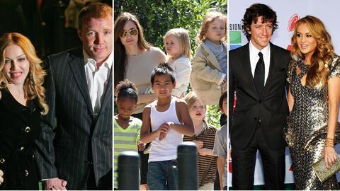Famosos custodia hijos Madonna; Angelina Jolie; Paulina Rubio