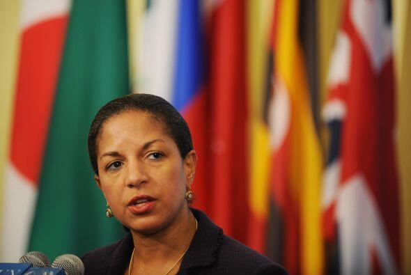 Susan Elizabeth Rice, es ahora exembajadora de Estados Unidos ante la Or...