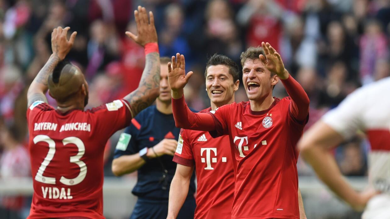 El Bayern Munich volvió a golear en casa