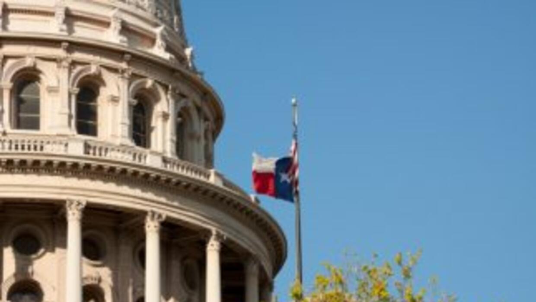Capitolio en Austin, la capital de Texas.