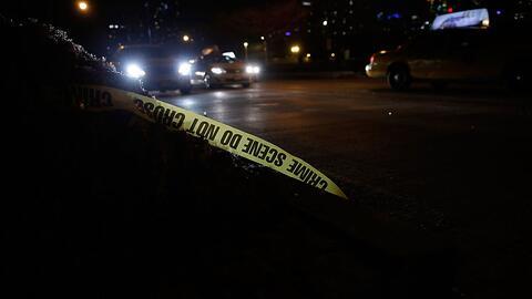 Imagen de archivo de un accidente en Nueva York, donde este lunes, un tr...