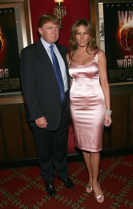 Melania Trump vistió una blusa feminista que (desafortunadamente) se lla...