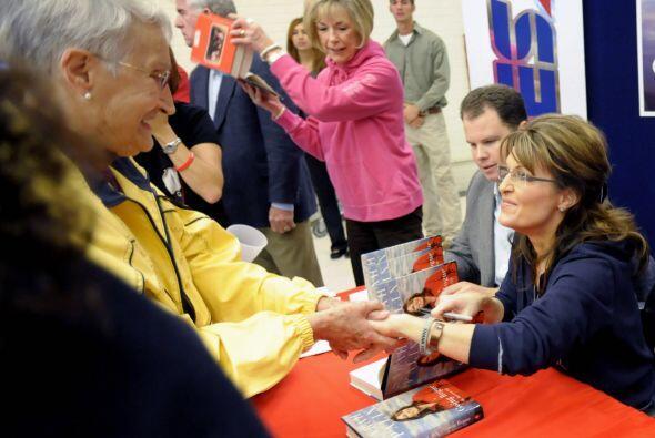 Palin ya no es gobernadora y ni siquiera estuvo en las boletas el pasado...