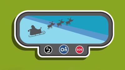 Por sexto año consecutivo OnStar rastreará el viaje de Santa Claus.