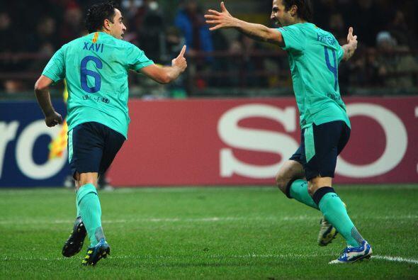 Pero enfrente tenían al Barcelona, que recurrió a la parte inversa de la...
