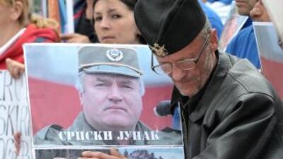 El ex-general serbiobosnio Ratko Mladic cuenta con miles de seguidores e...