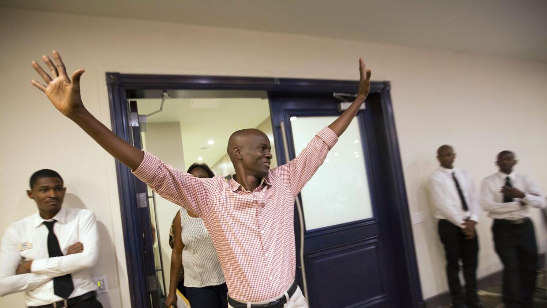 Jovenel Moise, candidato presidencial oficialista en Haití