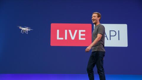 Mark Zuckerberg abre la conferencia F8 de 2016