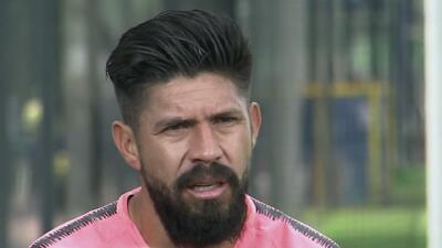 """Oribe Peralta: """"Quiero dejar el fútbol y no que el fútbol me deje a mí"""""""