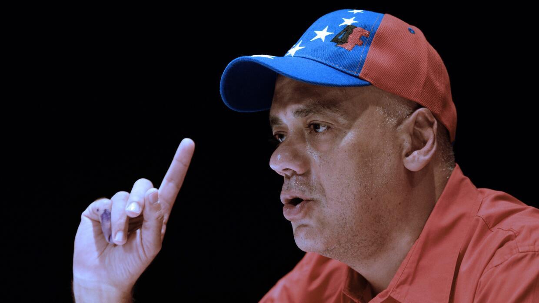 El alcalde del municipio Libertador de Caracas, Jorge Rodríguez.