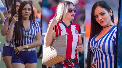 Las porristas y fanáticas de las Chivas conquistan en la Jornada 3