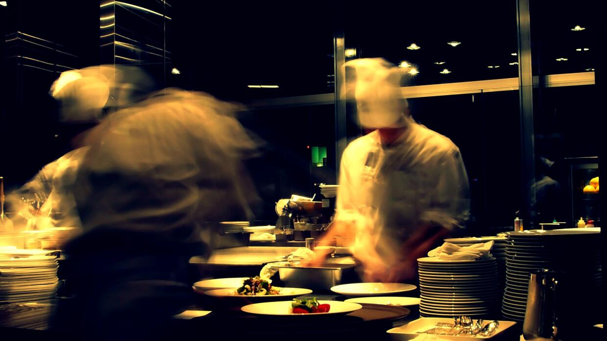 Chefs on the line