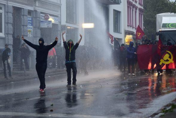 La manifestación central de la Federación de Sindicatos Alemanes sucedió...