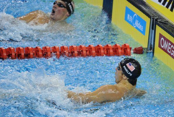 Phelps lo hizo en 1:54.16
