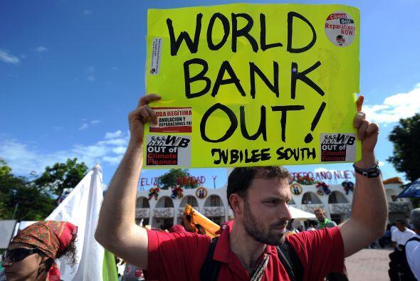 Otras acciones de protesta se han realizado en el marco final de la cumbre.