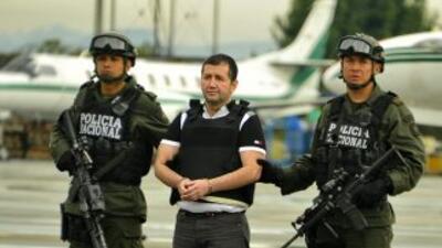 Barrera es el jefe de una organización que fabricaba y traficaba cocaína...