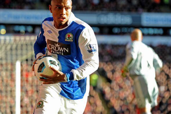 El Blackburn no podía creer que estuviera igualando hasta ese instante.