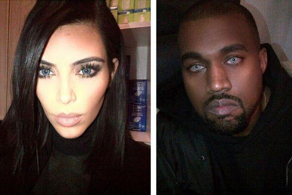 ¡Qué susto! Kim y Kanye nos sorprendieron con otra de sus extravagancias...