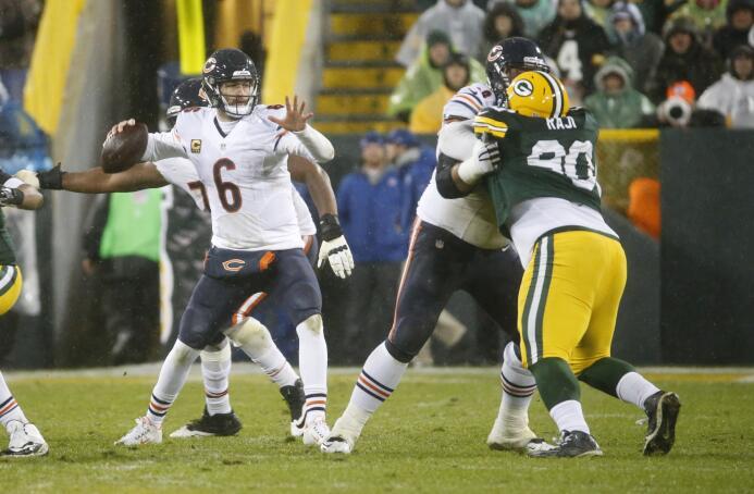 Los Chicago Bears vencieron 17 - 13 a los Green Bay Packers la noche del...