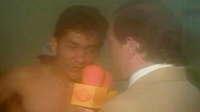Entrevistas desde el vestidor del equipo mexicano de los 90'