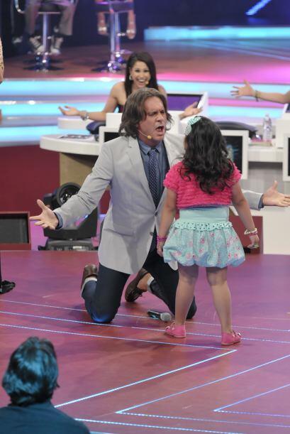 La pequeña es muy intensa a la hora de actuar y Arath es un excelente ac...